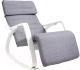 Кресло-качалка Calviano Relax F-1105 (серый) -