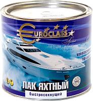 Лак яхтный Euroclass Алкидно-уретановый (1.8кг) -