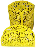 Набор для сервировки GALA Камелия SV008-YY (желтый) -