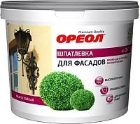Шпатлевка Ореол Фасадная влагостойкая для внутренних работ (1.5кг) -