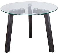 Журнальный столик Седия Clio (стекло/металл) -