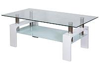 Журнальный столик Седия Dendi (белый глянец) -