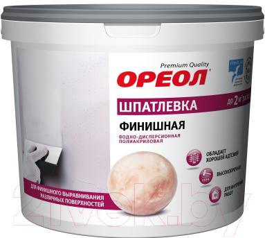 Купить Шпатлевка Ореол, Финишная (4кг), Россия