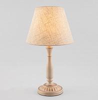 Прикроватная лампа Евросвет London 01060/1 (белый с золотом) -
