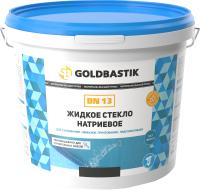 Жидкое стекло Goldbastik Натриевое BN 13 (1.3кг) -
