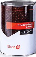 Эмаль Elcon Термостойкая (800г, черный) -