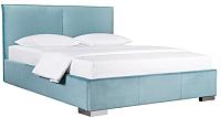 Двуспальная кровать ДеньНочь Амелия К03 KR00-25e 160x200 (KN26/KN26) -