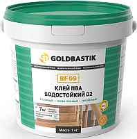 Клей Goldbastik ПВА водостойкий D2 BF 09 (1кг) -