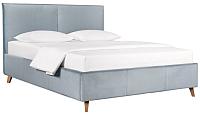 Двуспальная кровать ДеньНочь Амелия К04 KR00-25L 180x200 (PR05/PR05) -