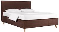 Односпальная кровать ДеньНочь Аннета К03 KR00-17Le 90x200 (KN06/PR02) -
