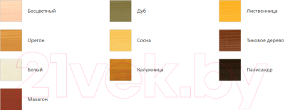 Защитно-декоративный состав Profiwood Антисептик-лазурь (900мл, дуб)