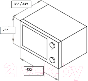 Микроволновая печь Maunfeld GFSMO.20.5B -