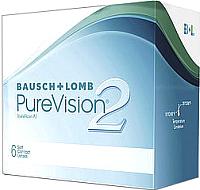 Контактная линза PureVision 2 Sph-3.75R8.6 -