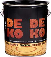 Защитно-декоративный состав Цветогамма Для древесины (2.6кг, красное дерево) -
