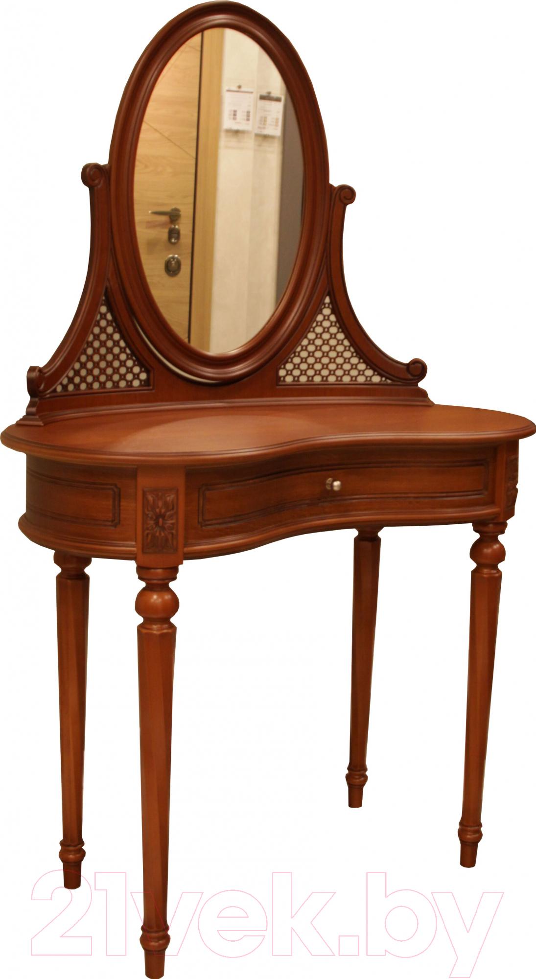Купить Туалетный столик с зеркалом ГрандМодерн, Орех, Беларусь, дерево средних тонов