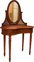 Туалетный столик с зеркалом ГрандМодерн Орех -