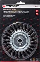 Щетка дисковая Forsage F-BWF107 -