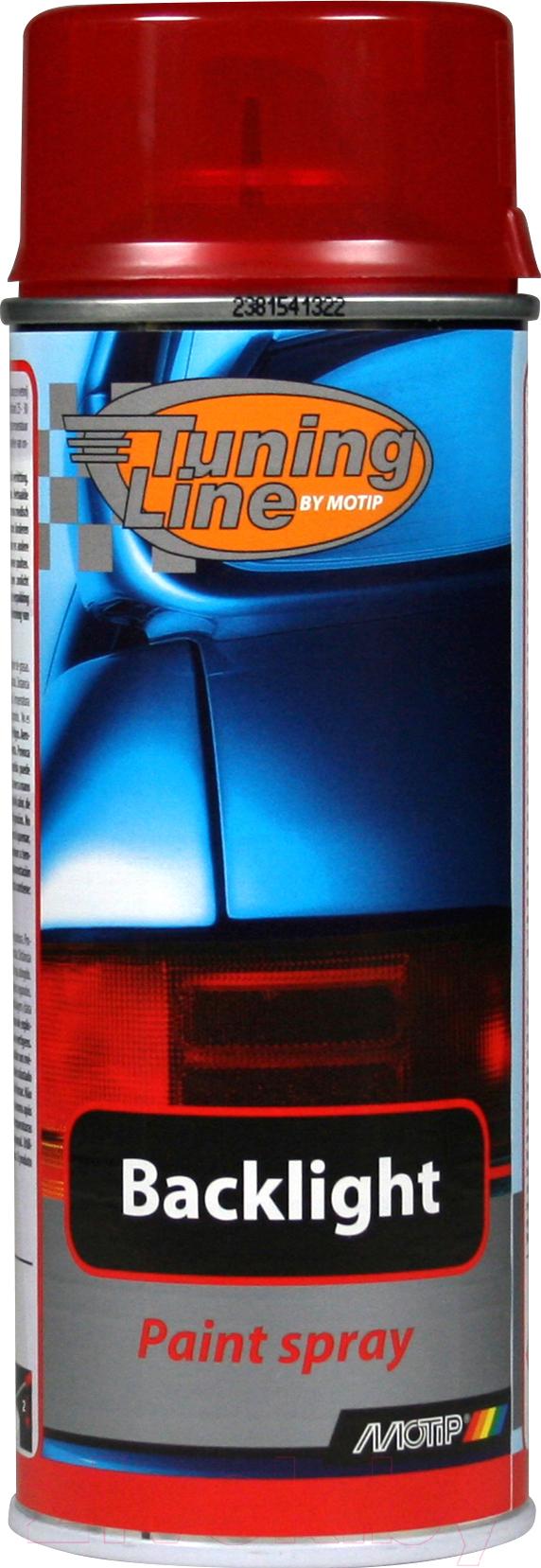 Купить Лак автомобильный MoTip, Для тонировки фар / 00261 (400мл, красный), Нидерланды