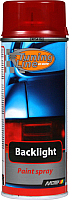 Лак автомобильный MoTip Для тонировки фар / 00261 (400мл, красный) -