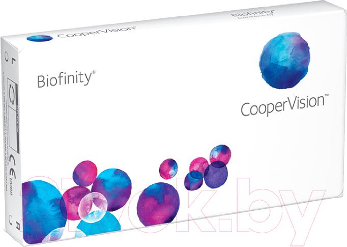 Купить Контактная линза Biofinity, Sph-3.00 R8.6 D14.0, Сша