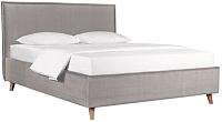 Односпальная кровать ДеньНочь Аннета К03 KR00-17Le 90x200 (PR02/PR02) -
