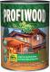 Защитно-декоративный состав Profiwood Для древесины (750мл, тик) -