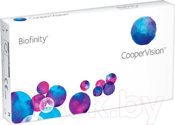 Контактная линза Biofinity, Sph+3.00 R8.6 D14.0, Сша  - купить со скидкой