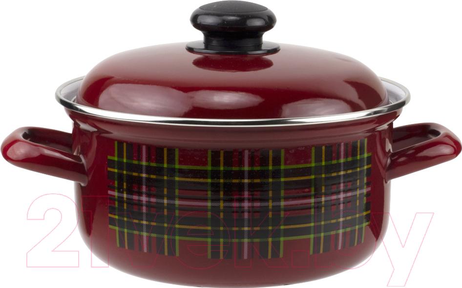 Купить Кастрюля Лысьвенские эмали, Шотландка С-1510 АП2/8Вш, Россия
