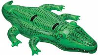 Надувная игрушка для плавания Intex Большой аллигатор / 58562 -