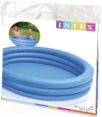Надувной бассейн Intex Crystal Blue 59416