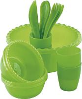 Набор пластиковой посуды Palisad Camping 69518 -