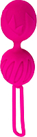 Шарики интимные Adrien Lastic Geisha Lastic Ball L / 55491 (ярко-розовый) -