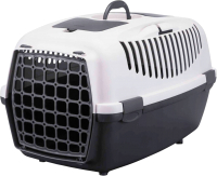 Переноска для животных Trixie Traveller Capri III 39831 (светло-серый/темно-серый) -