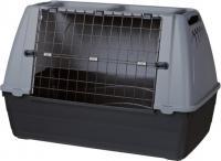 Переноска для животных Trixie Journey M 39413 (черно-серый) -
