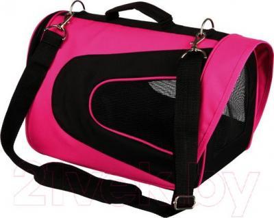 Сумка для животных Trixie Alina 28966 (розово-черный) - общий вид
