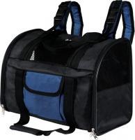 Рюкзак-переноска Trixie Connor 2882 (черный/синий) -