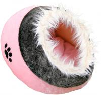 Домик для животных Trixie Minou 36301 (серо-розовый) -
