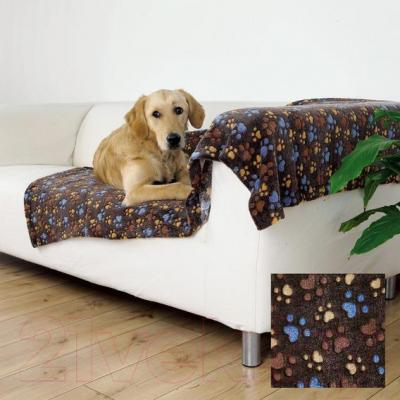 Подстилка для животных Trixie Laslo 37205 (темно-коричневый) - в использовании