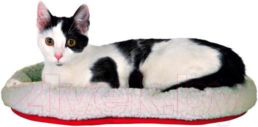 Купить Лежанка для животных Trixie, Kuschelbett 28631 (бело-красный), Германия