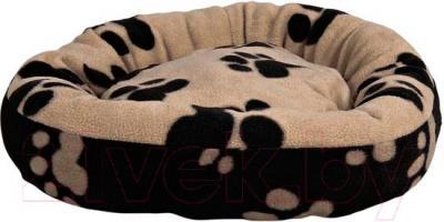 Лежанка для животных Trixie Sammy 37682 (черно-бежевый) - общий вид