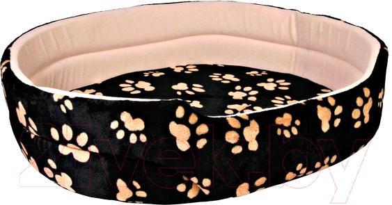 Купить Лежанка для животных Trixie, Charly 37013 (черно-бежевый), Германия