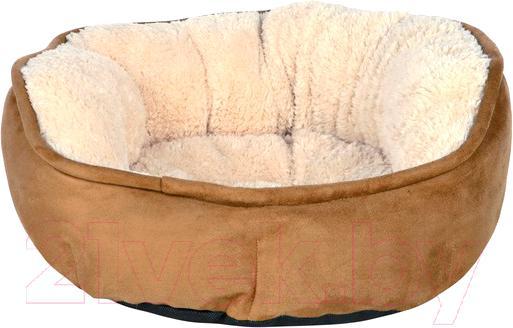 Купить Лежанка для животных Trixie, Othello 37841 (коричнево-бежевый), Германия