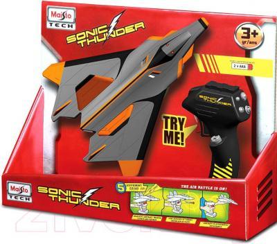 Самолет игрушечный Maisto Военная авиация Sonic Thunder / 81195 - упаковка