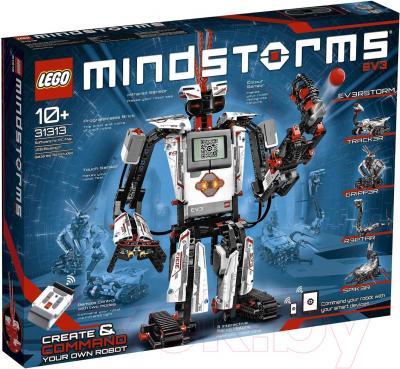 Конструктор программируемый Lego Mindstorms EV3 31313 - упаковка