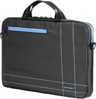 Сумка для ноутбука Continent CC-201GB (серый/голубой) -