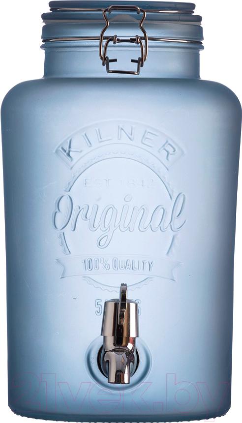 Купить Диспенсер для напитков Kilner, K0025.845V (голубой), Китай, стекло