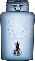 Диспенсер для напитков Kilner K0025.845V (голубой) -
