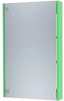 Шкаф с зеркалом для ванной Triton Эконом-55 (салатовый) -