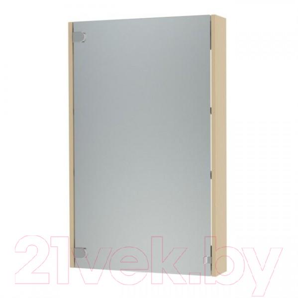 Купить Шкаф с зеркалом для ванной Triton, Эконом-60 (бежевый), Россия