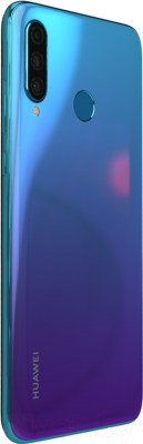 Смартфон Huawei P30 Lite / MAR-LX1M (насыщенный бирюзовый) -